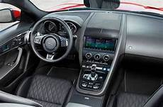 2019 jaguar f type interior elements and technology