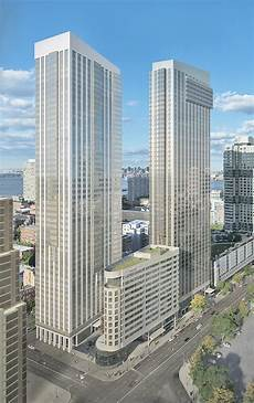 Columbus Apartments Jersey City by Financing Secured For 50 Story 539 Unit Residential Tower