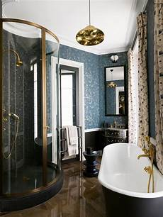 Black And Blue Bathroom Ideas 25 Parisian Bathroom Decor Ideas Digsdigs