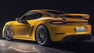 2020 Porsche 718 Cayman GT4 Vs Boxster Spyder Unveiled