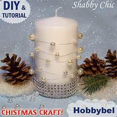candele fai da te natalizie hobbybel creativit 224 candele decorate con perle tutorial