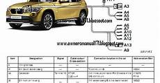 owners manual download bmw x1 wiring diagram