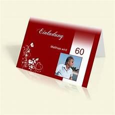 einladungskarten 60 geburtstag einladungen selbst