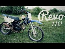 Revo Modif Trail by Modifikasi Honda Revo Trail Kabut Salju Grasstrack