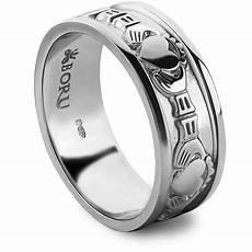 silver claddagh ring ls wed1