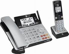 at t tl86103 dect 6 0 2 line expandable corded cordless