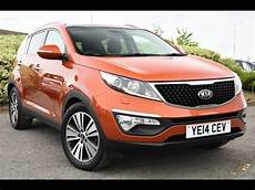 used kia sportage 1 7 crdi isg 3 5dr orange 2014
