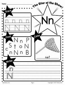 letter n activities worksheets 24142 letter n worksheet tracing coloring writing more supplyme