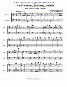 free sheet music for variations sur un flambeau jeannette isabelle rondeau michel by