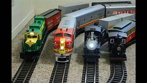 Big Model Trains Running Inside My Small House  YouTube