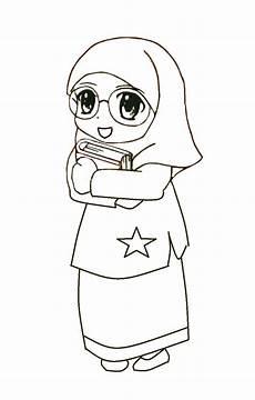 Foto Kartun Muslimah Pakai Kacamata Medsos Kini