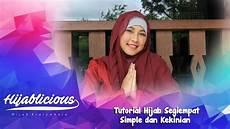 Hijablicious Tutorial Segiempat Simple Dan Kekinian