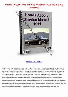 free online auto service manuals 1991 honda accord on board diagnostic system honda accord 1991 service repair manual works by todster issuu