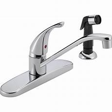 1 Kitchen Faucet Peerless Single Handle Kitchen Faucet With Side