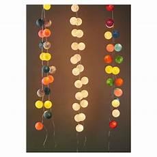 guirlande lumineuse boule guirlande lumineuse boules 7 cm funky x1 perles co