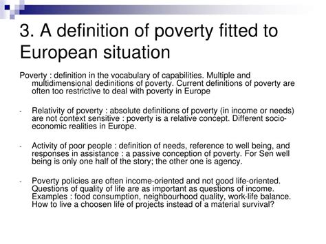 Eu Definition Of Poverty