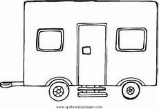wohnwagen 4 gratis malvorlage in lastwagen