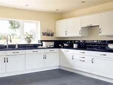 Ideas For Black Kitchen by White Kitchen Tiling Ideas Black And White Kitchen Design