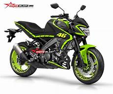 Striping R Modif by Modifikasi Striping Yamaha All New Vixion R Black Vr46