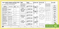 maths worksheets for year 1 15628 year 1 maths place value and number learning from home activity booklet