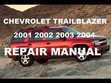 old car owners manuals 2003 chevrolet trailblazer navigation system chevrolet trailblazer 2001 2002 2003 2004 repair manual youtube