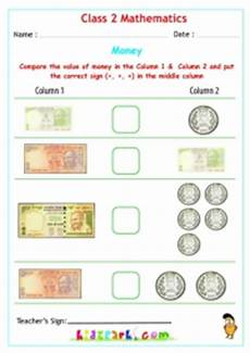 money worksheets for grade 3 india 2538 money worksheets for class 2 maths kidzpark