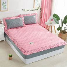 korean style bed sheet with elastic princess mattress