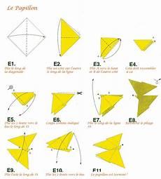 origami animaux facile origami facile papillon
