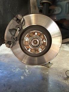 Jaghelp Changing The Front Brake Pads And Rotors On