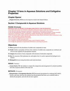 chapter 13 ions in aqueous solutions and colligative properties