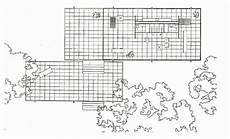 mies van der rohe house plans plan of farnsworth house by mies van der rohe source d