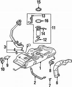 book repair manual 2004 oldsmobile silhouette engine control fuel system components for 1998 oldsmobile silhouette gmpartsdirect com