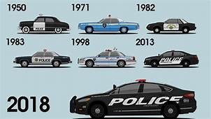 Ford Shows Off Its Long History Of Cop Cars In New Video