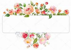 flower card design template watercolor floral card template stock photo 169 yaskii