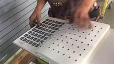 garate recommends valspar automotive paint for teng s new garage slat wall youtube