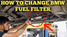 how to change fuel filter bmw e46 diy