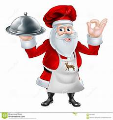 christmas santa cook chef stock vector image 59116351