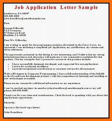 sle letter application letter contoh 36