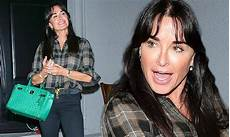 kyle richards sports new bangs haircut reveals resort collection will debut at nyfw daily