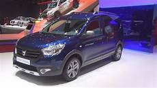 dacia dokker stepway tce 115 dacia dokker stepway tce 115 start stop 2016 exterior and interior