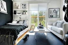 living and sleeping areas exist in harmony in these comfortable studio combined living and sleeping area studio style live