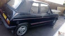 1985 talbot samba cabriolet black