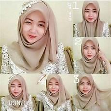 Gambar Tutorial Simple Segi Empat Ragam Muslim