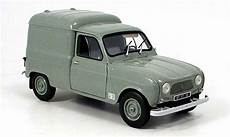 renault 4 f4 miniature grise 1965 norev 1 18 voiture