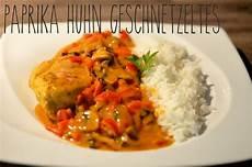 Reis Mit Soße - melina s s 252 223 es leben h 228 hnchenbrust mit paprika pilz so 223 e