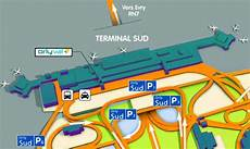Orly Sud A 233 Roport Terminal S Orly Plan Parkings
