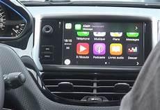 Nous Avons Essay 233 Apple Carplay Dans La Peugeot 208