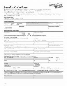 alaskacare forms alaska care claim form fill online printable fillable blank pdffiller
