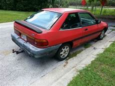 how petrol cars work 1995 ford escort security system sell used 1995 ford escort lx sport hatchback 2 door 1 9l in saint petersburg florida united
