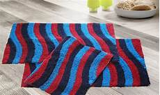 multi color bath rugs 3 pk groupon goods